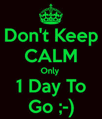 dont keep calm - get excited