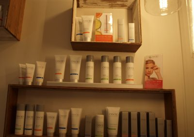 ASAP skincare product display - Lavish Skin Therapy Clinic-beauty salon Benalla 03 5762 8404