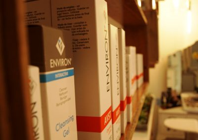 Environ skincare product display - Lavish Skin Therapy Clinic-beauty salon Benalla 03 5762 8404