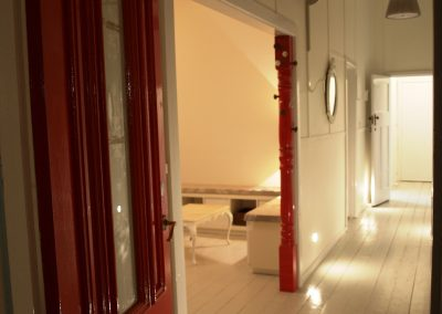 Hallway entrance to treatment room - Lavish Skin Therapy Clinic-beauty salon Benalla 03 5762 8404