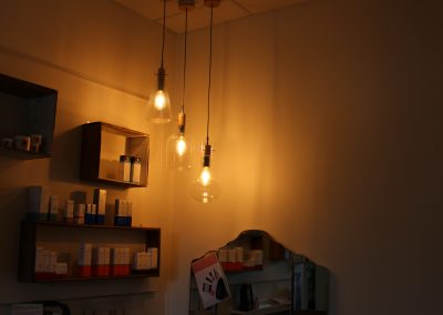 Lighting in the beauty treatment rooms - Lavish Skin Therapy Clinic-beauty salon Benalla 03 5762 8404