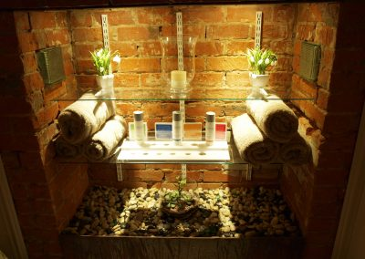 Product and towel storage- Lavish Skin Therapy Clinic-beauty salon Benalla 03 5762 8404