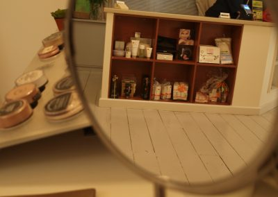 Product display at the front counter - Lavish Skin Therapy Clinic-beauty salon Benalla 03 5762 8404
