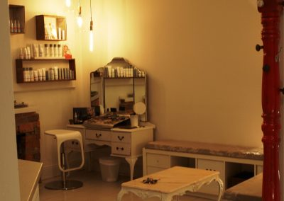 View from door to makup application area - Lavish Skin Therapy Clinic-beauty salon Benalla 03 5762 8404