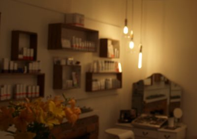 View from front reception area to makeup display - Lavish Skin Therapy Clinic-beauty salon Benalla 03 5762 8404